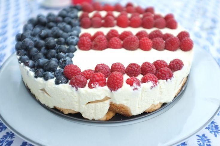 Dessert patriotique pour la fête nationale