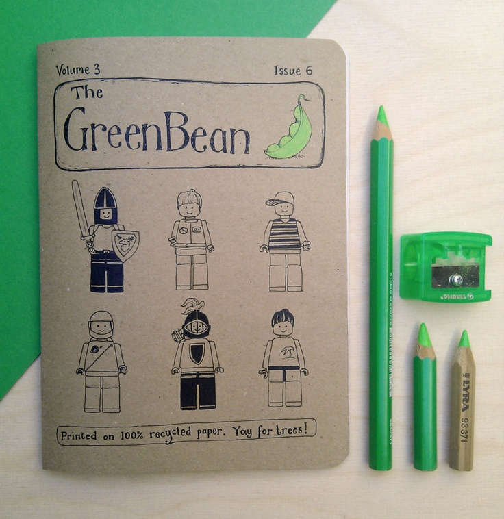 Green Bean Vol. 3 Issue 6. £5.00, via Etsy.  Another lovely issue of The Green Bean zine, this one focusing on Katie's favourite things.