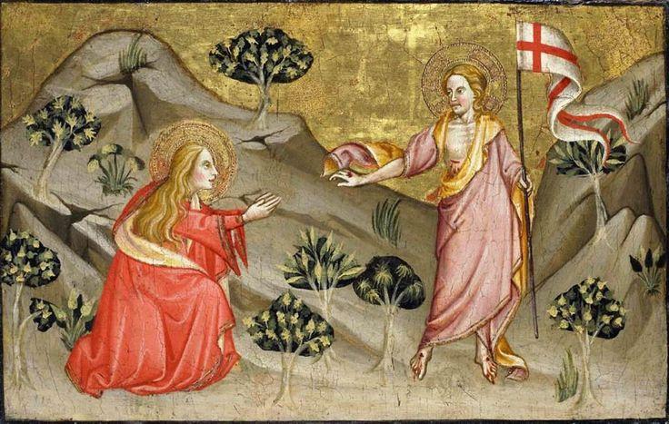 Noli me tangere: Antonio di Atri  #Catholic #sacredart #marymagdalene #Jesus   http://www.wga.hu/art/a/antonio/atri/noli_me.jpg