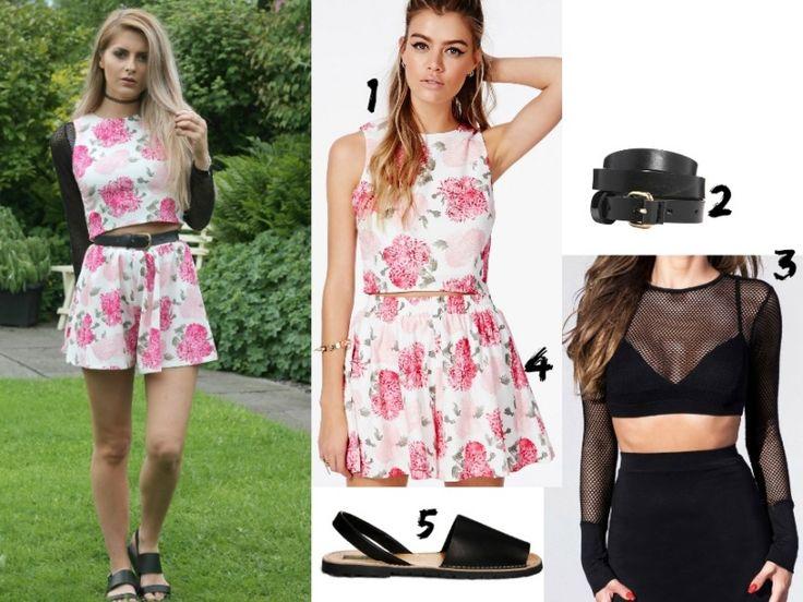 Was soll ich heute anziehen-Overall-Blumenmuster-Hipster-Sommeroutfits