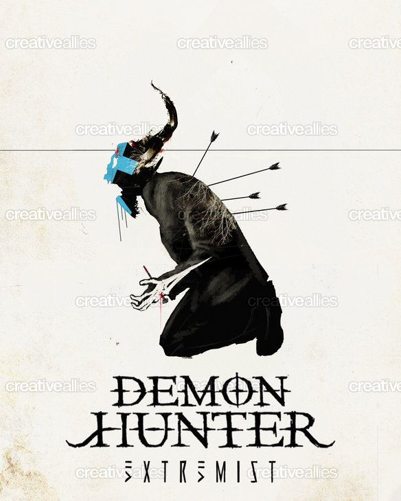Demon Hunter Poster by Cody Taylor on CreativeAllies.com