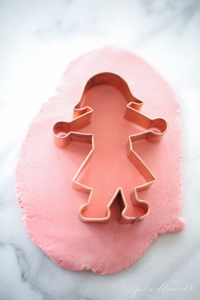 DIY Color Salt Dough Ornaments on julieblanner.com
