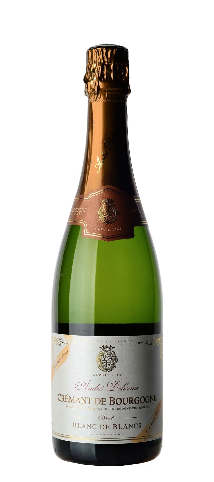 Andre Delorme Crémant de Bourgogne Blanc de Blancs Brut Terroir des Fleurs