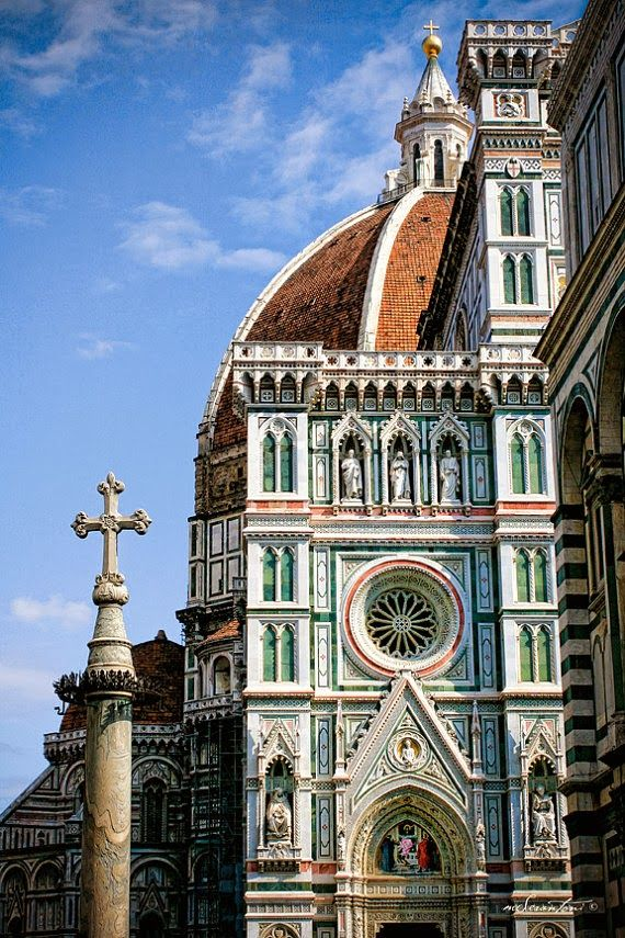 Duomo in Florence--I can't believe I lived here for a year and a half...and it feels like a dream.