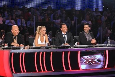 #TheXFactor 2008 Sponsorship at #Megatv from #ZAROS www.zarossa.gr