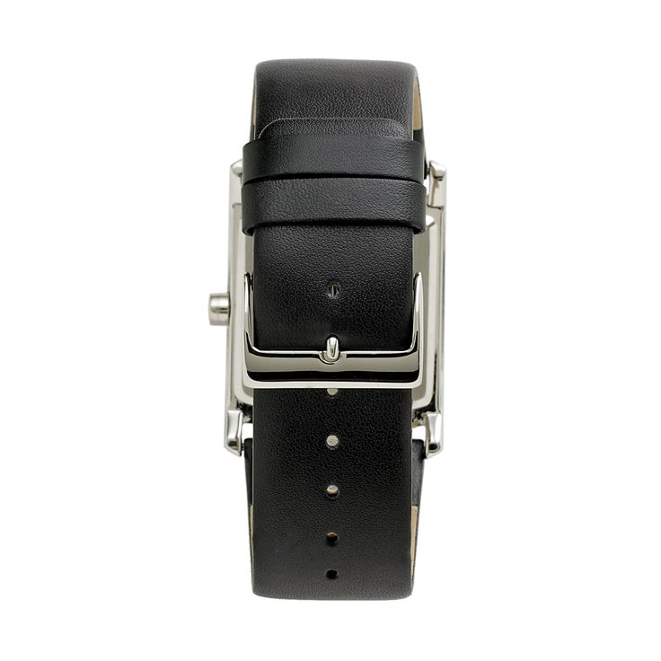 Armitron mens crystal leather watch 204604dbsvbk
