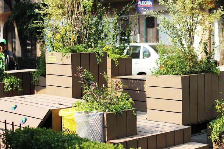 Galería de Parklets - Una nueva alternativa de espacio público en la ciudad / Fundacion Espacios + DAS Arquitectura - 6
