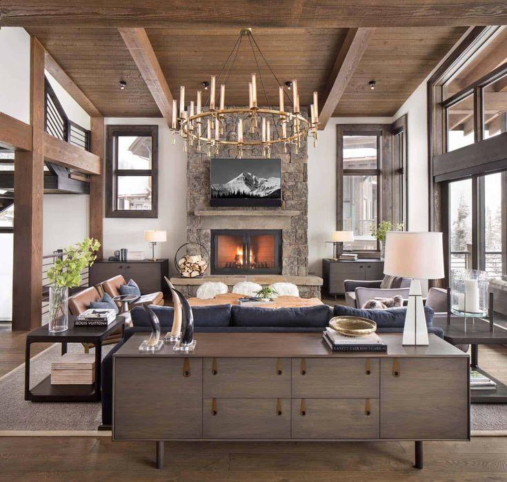 One Kindesign: Mid Century Modern Living Room