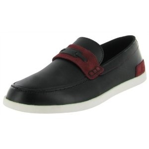 Click on the image for more details! - LACOSTE Calvet AP Leather Loafers Casual Mens Shoes (Apparel)
