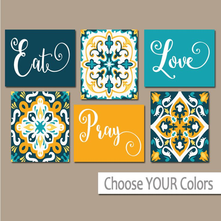 Modern Kitchen Wall Decor Eat Pray Love Trio By: Best 25+ Kitchen Canvas Ideas On Pinterest