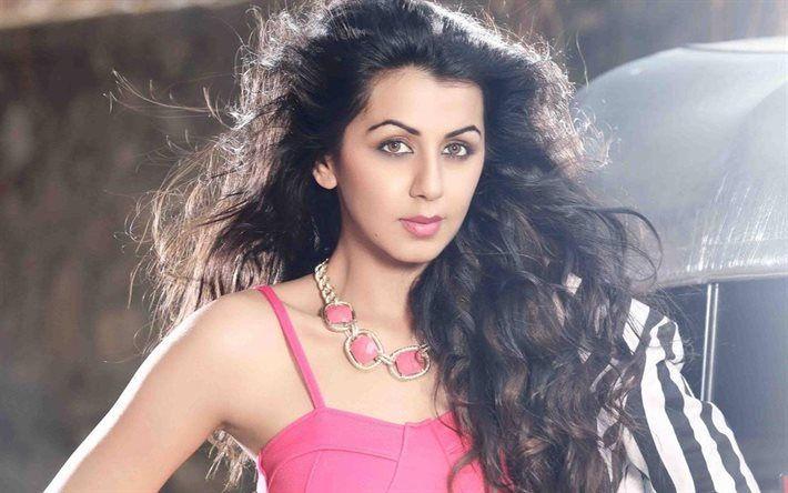 Télécharger fonds d'écran Nikki Galrani, Bollywood, l'actrice indienne, brunette, beauté
