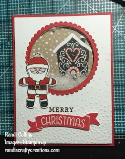 Randi's Crafty Creations, stampin up cookie cutter christmas