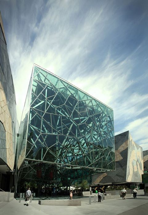 Federation Square, Melbourne i think melburne is the best becuase of the the city