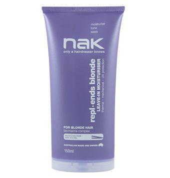 Repl.ends Blonde #NAKsignature #NAKhair