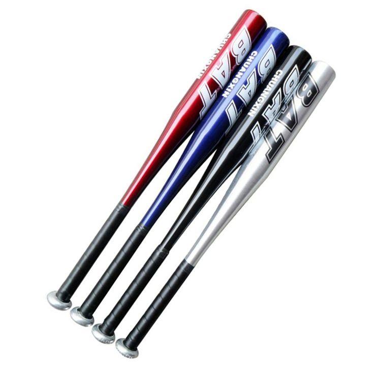 20 pulgadas de aleación de aluminio al aire libre deportes bat de béisbol suave femenina bat de béisbol masculino mano derecha la mano izquierda para el ejercicio o partidos
