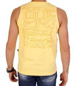 Camiseta Regata Rikwil Amarela 13051620 - #regatamasculina #modamasculina #surf #surfwear #compramais #fretegratis #promocao #modaparahomem http://www.compramais.com.br/masculino/regatas-masculinas/camiseta-regata-rikwil-amarela-13051620/