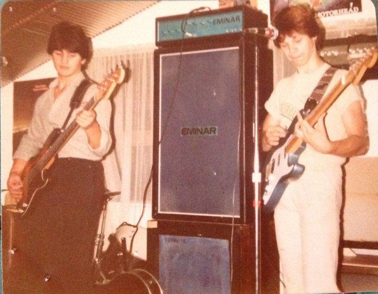 Pierre Pierre & Brian Canham 1980
