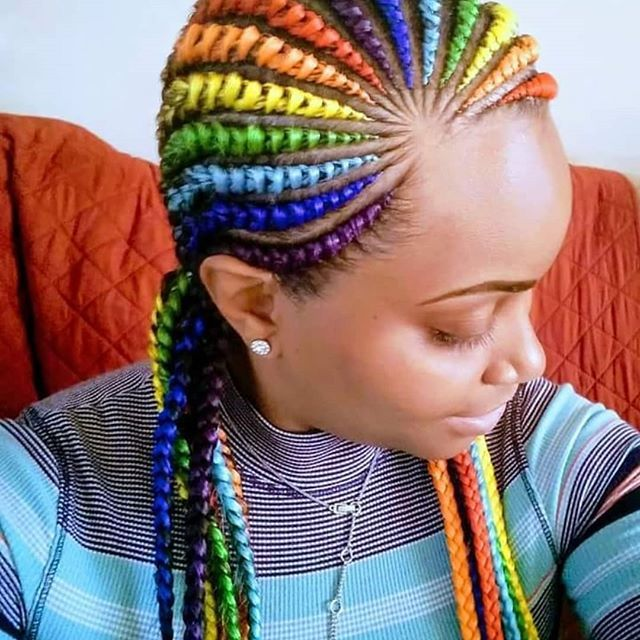 Cornrows Hairstyles 2019 African Braids Natural Cornrow