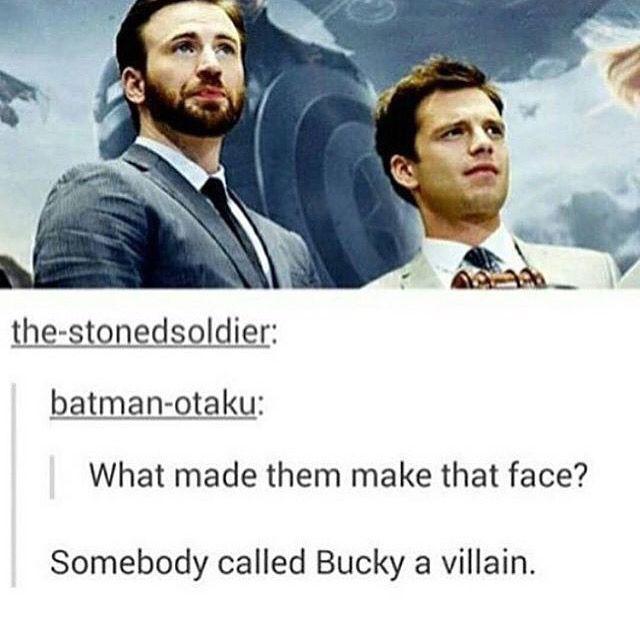 Don't call my little nugget a villain