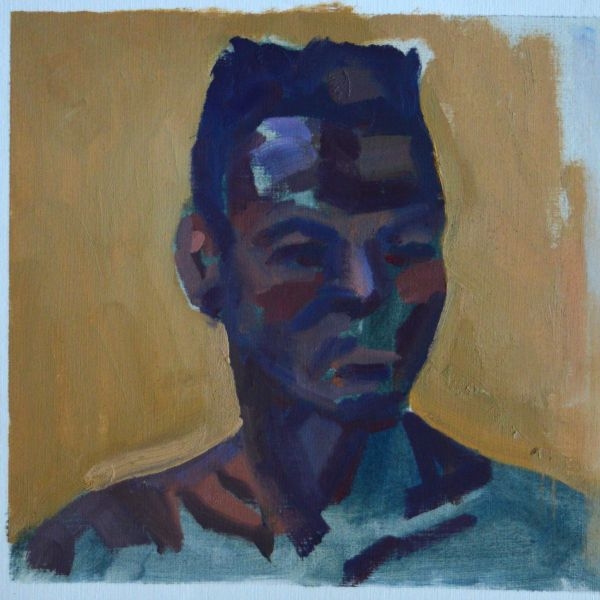 Made by Kemp 2015 Brother 20x20 cm oil on paper  werkvankemp.nl   http://werkvankemp.nl/wp-content/uploads/2015/12/Kemp-2015-Brother-20x20cm-oil-on-paper.jpg