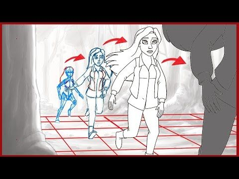 2D Drawn Animation Tutorial - How to animate running in perspective - YouTube