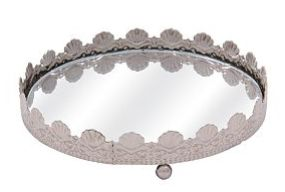 This Vintage feminine mirror plate is available at mrphome for only R39.99. Stunning!