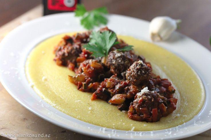 Meatballs Alla Norma : 15 SmartPoints #Meatballs #Meatballsallanorma #Norma #Smartpoints #slankosund #smårätter #recept #recipe #köttbullar #kött #meat #recepttips #viktväktarrecept #viktväktare