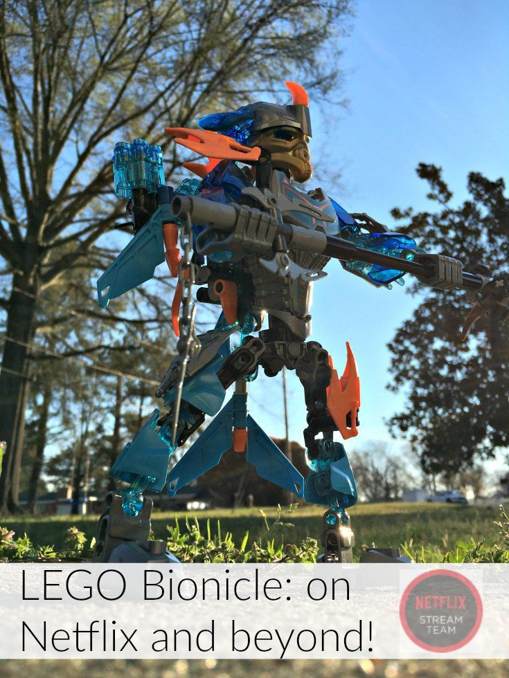 We love interactive TV. Go beyond Netflix with LEGO Bionicle toys! They seriously saved Spring Break for us.