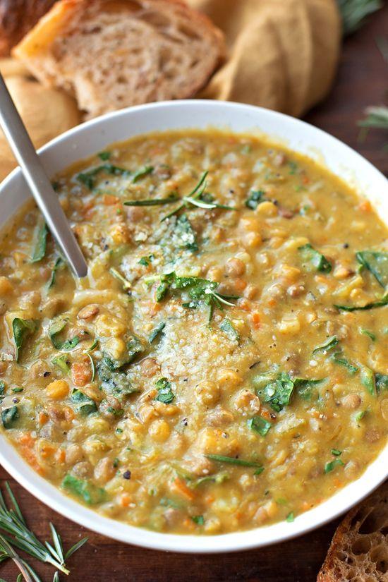 Veggie Loaded Lentil Soup   lifemadesimplebakes.com