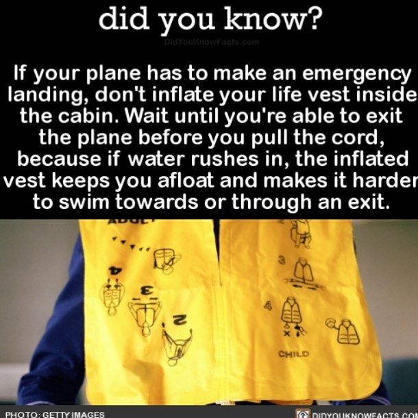 Save yourself!  #science #travel #airplane #safetyfirst Download our free App: [LINK IN BIO]