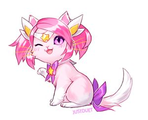 nyan guardian lux, commissioned by @samriceyy :3
