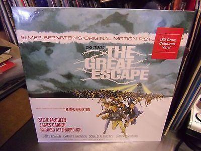 Soundtrack The Great Escape [Elmer Bernstein] LP NEW 180g BLUE Colored vinyl
