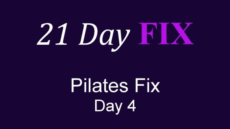 Soarin' to New Heights: The 21 Day Fix--Pilates Fix