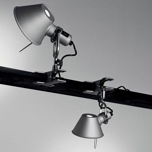 Artemide Tolomeo Clip On Lamp Spot Light Lighting Clamp