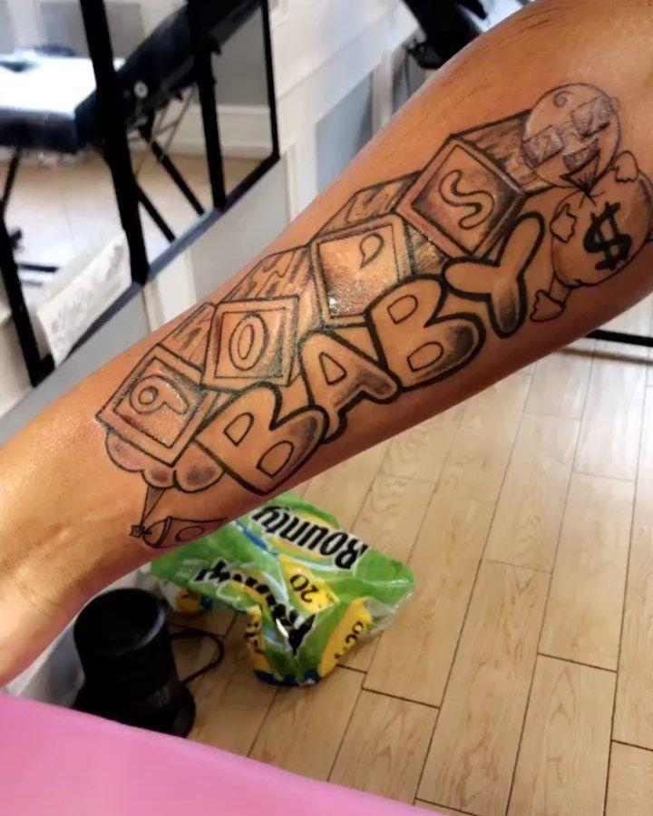 90s baby tattoo baby tattoos forearm sleeve tattoos