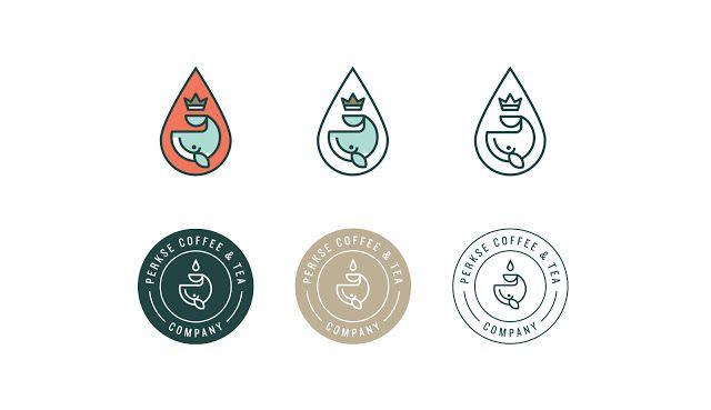 Good design makes me happy: Project Love: Perkse Coffee & Tea Co