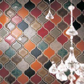 Solistone Commercial Tessen Ceramic Backsplash
