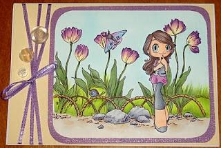 Pretty Spring Card