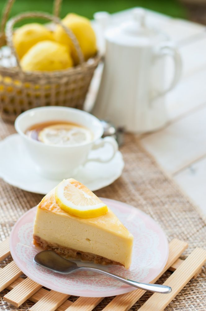 Baked Lemon Cheesecake - Sugar Free - Natvia.com recipes
