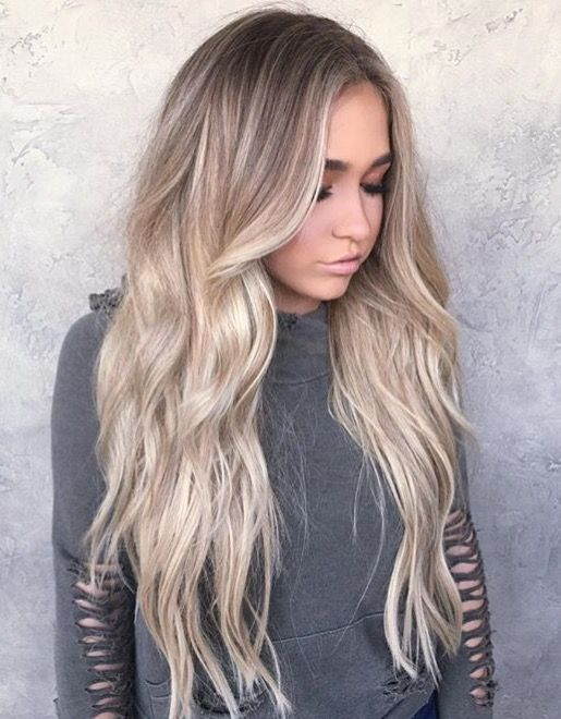 Blonde with a tapped out root