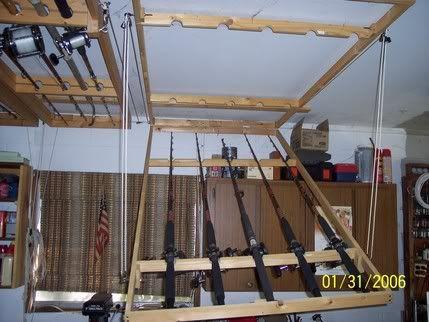 Afixe suas teto montado titulares de vara - O casco Verdade - canoagem e pesca aérea