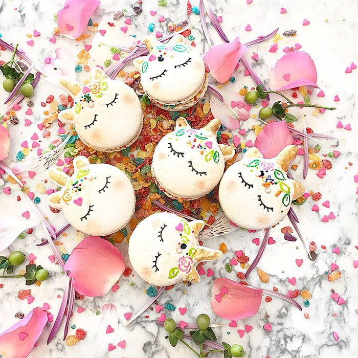 Check out the prettiest macarons ever made -- Unicorn Macarons!