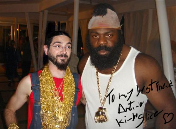 Thanks Kimbo Slice, you're a champion!