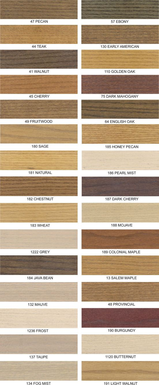Wood Stain Finishes Love The Fog Mist And Light Walnut For Home Colors Furniture