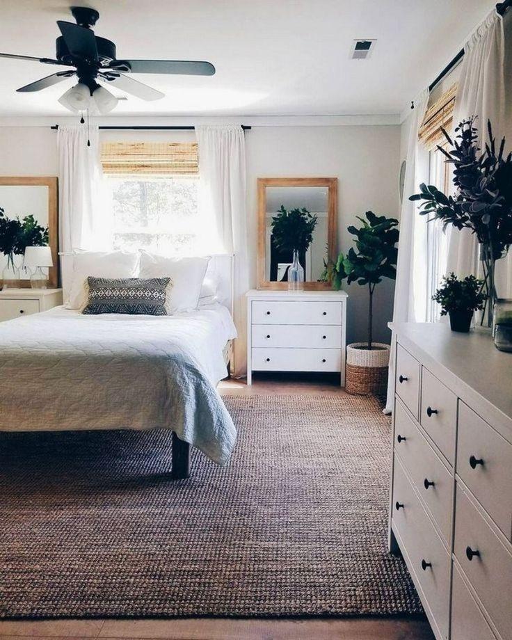 ✔81 best farmhouse bedroom decor ideas on a budget 29
