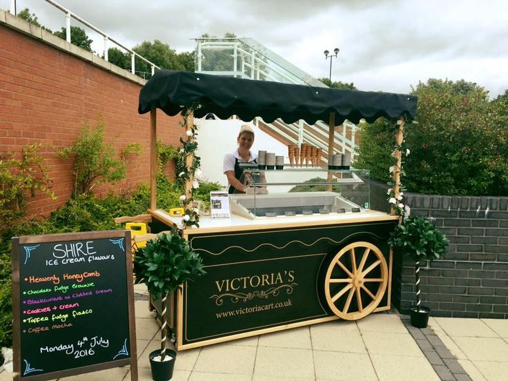 Beautiful handmade Victorian ice cream cart. The perfect hire for weddings, birthdays, corporate events, parties. Served with real dairy ice cream, using organic milk.