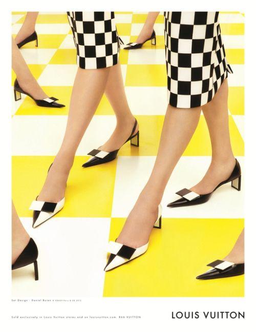 Louis Vuitton S/S13 ad campaign by Steven Meisel.