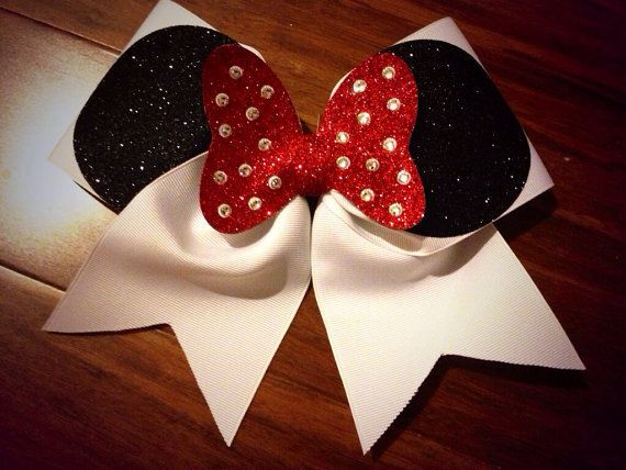 Cute cheer bow for Disney