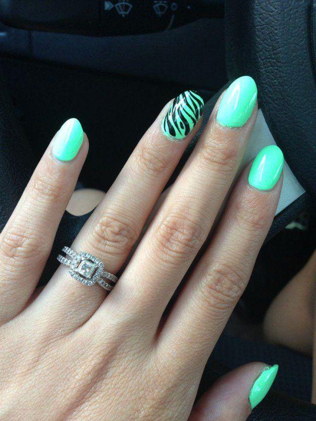 Oval Nails Design Tumblr Pin oleh Janet ...