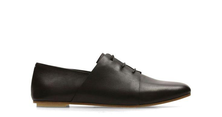 Margot Lace Black Leather | Clarks